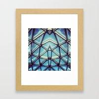 sym7 Framed Art Print