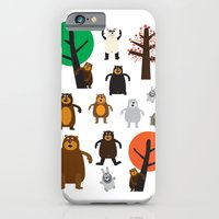 iPhone & iPod Case featuring Bears, grizzly and other by Joe Pugilist Design