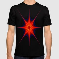 Starry Starry SMALL Mens Fitted Tee Black