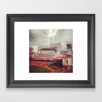 Cincinnati Reds Framed Art Print