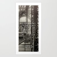 In The World Art Print