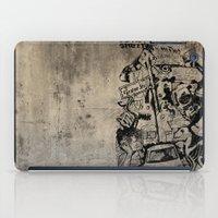 Berlin Street Art concrete iPad Case
