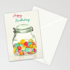 sweets for my sweet Stationery Cards
