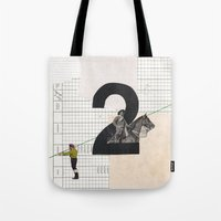 2 - Horse And Strings Tote Bag