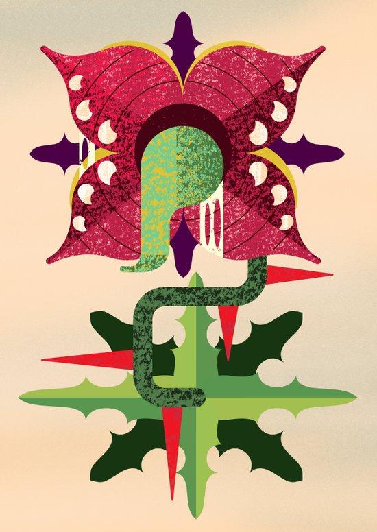 Quadro Baba Art Print