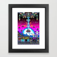 FINAL BOSS - Variant version Framed Art Print