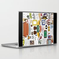 collage Laptop & iPad Skins featuring Collage by Loverly Prints