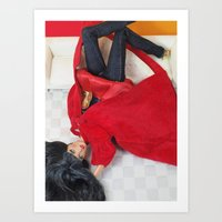 Red As Rouge Art Print
