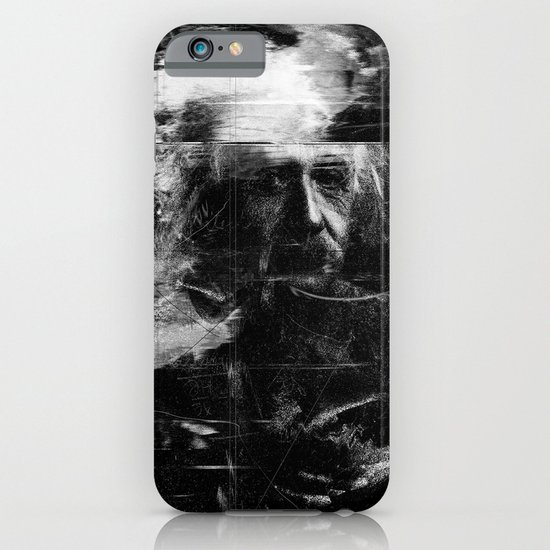 Albert Einstein iPhone & iPod Case