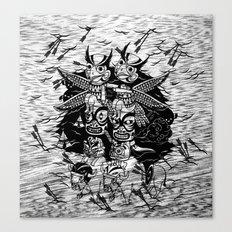 The Myth of Totummy Canvas Print