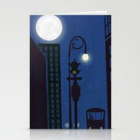 Last Stop On The Night Bus Stationery Cards