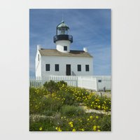 Cabrillo National Monument Lighthouse No 088 Canvas Print