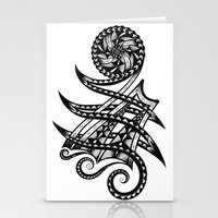 Shoulder Band Tattoo  Stationery Cards