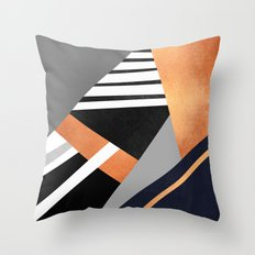 Geometric Combination V2 Throw Pillow
