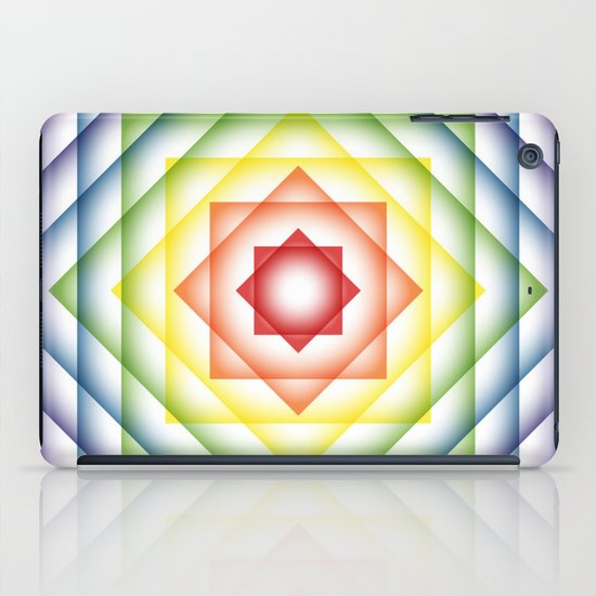 ROY G BIV Overlay iPad Case