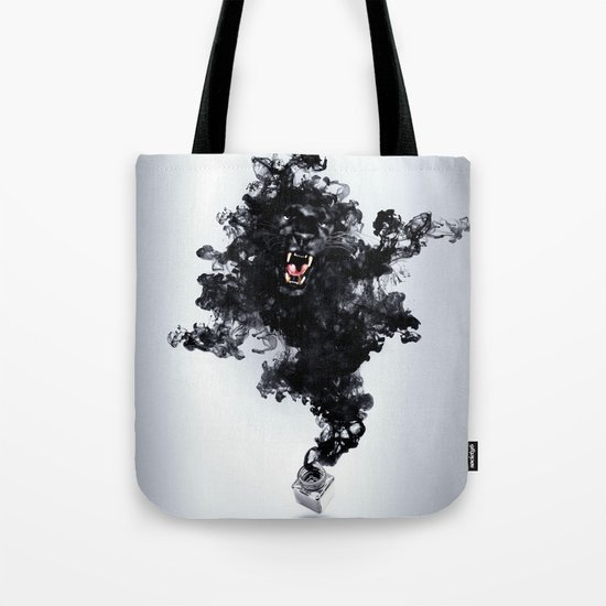 Ink Panther Tote Bag