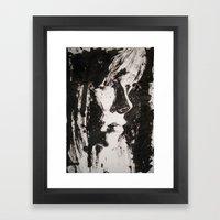 retrato Framed Art Print
