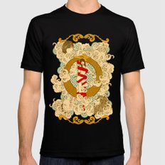 XXI The Universe Black SMALL Mens Fitted Tee