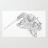 Dragonborn (Skyrim) Rug