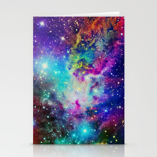 Fox Nebula Stationery Card