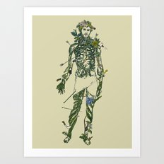 Wound Man Art Print