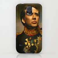 Galaxy S5 Cases featuring Nicolas Cage - replaceface by replaceface