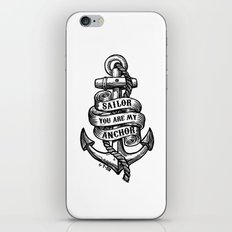 You Are My Anchor iPhone & iPod Skin