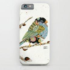 Cafe Swirly Bird 4 iPhone 6 Slim Case