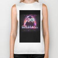 Love 80s Title Art Biker Tank