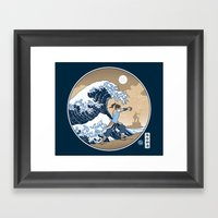 The Great Wave of Republic City Framed Art Print