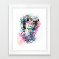 Bride2 Framed Art Print