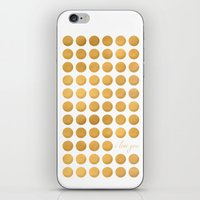The Circle of Love iPhone & iPod Skin