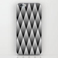 Silvery iPhone & iPod Skin