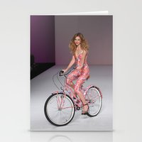 Girls on Bikes Stationery Cards
