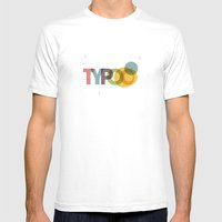 typo Mens Fitted Tee White SMALL