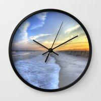 Atlantic Sunset Wall Clock