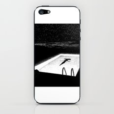 asc 593 - Le silence des cigales (The midnight lights) iPhone & iPod Skin