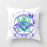 Kate Of Kale's All Seein… Throw Pillow
