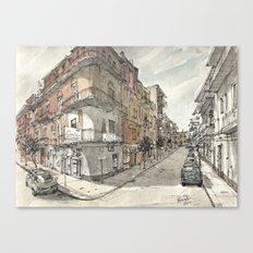 Italy Sketchbook Canvas Print