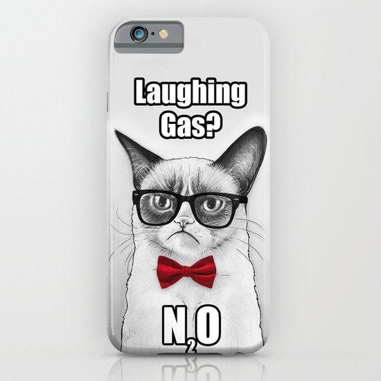 Grumpy Chemistry Cat iPhone & iPod Case