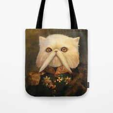Persian Cat Emperor Tote Bag