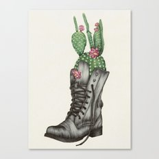 Shoe Bouquet II Canvas Print