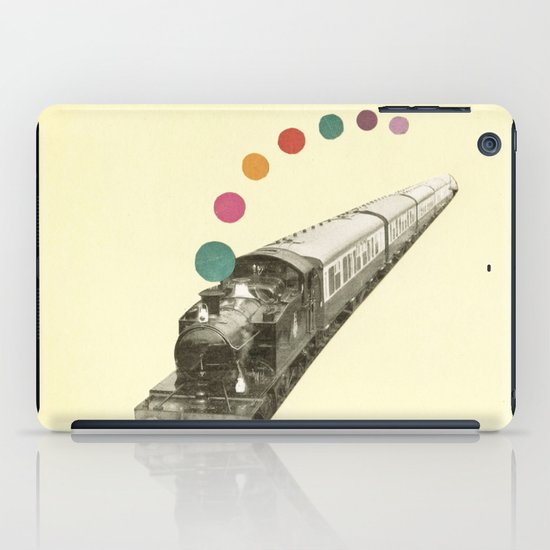 Rainbow Train iPad Case