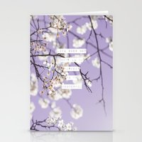 Life Does Not Have To Be Perfect To Be Wonderful Stationery Cards