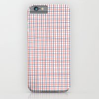 French Grid iPhone 6 Slim Case