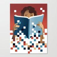 Print To Pixels Canvas Print