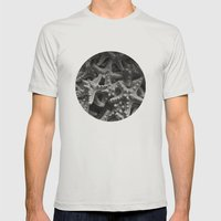 Starfish Mens Fitted Tee Silver SMALL