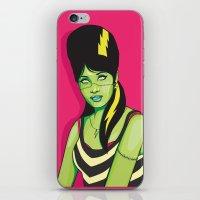 Frankette #1 iPhone & iPod Skin