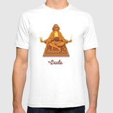 The Lebowski Series: The… Mens Fitted Tee White SMALL
