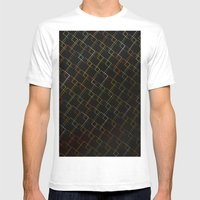 Square Traffic  Mens Fitted Tee White SMALL